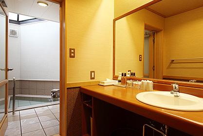 【時の館】早春の間 専用浴室