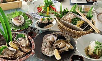 岩牡蠣の膳