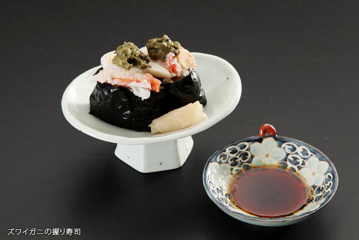 蟹の握り寿司